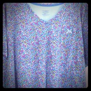 Catherine's Blue Floral Sleepshirt -NWT